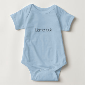 "Infant's ""Mamas rock"" tee"
