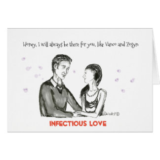 Infectious Love Card