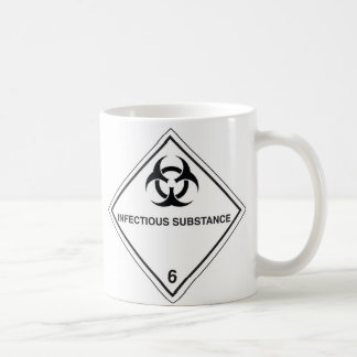 infectious substance coffee mug
