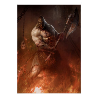 Infernal executioner poster