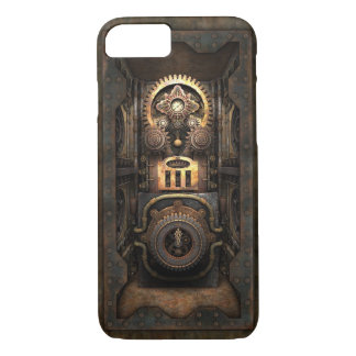 Infernal Steampunk Contraption (Enclosed) iPhone 8/7 Case