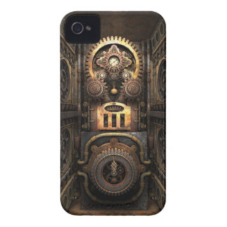 Infernal Steampunk Contraption iPhone 4 Covers