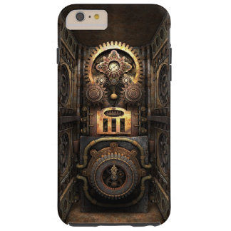 Infernal Steampunk Contraption Tough iPhone 6 Plus Case