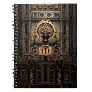 Infernal Steampunk Machine Notebook