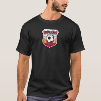 Inferno F.C. - Basic T - Black T-Shirt