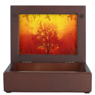 Inferno Flight Keepsake Box