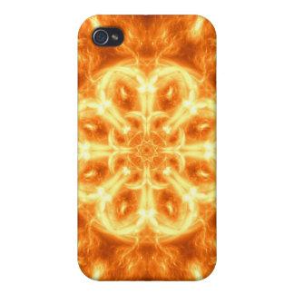 Inferno Mandala iPhone 4/4S Cases