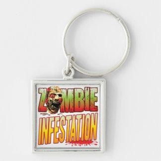 Infestation Zombie Head Key Chains