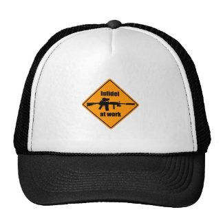 Infidel at Work Mesh Hats