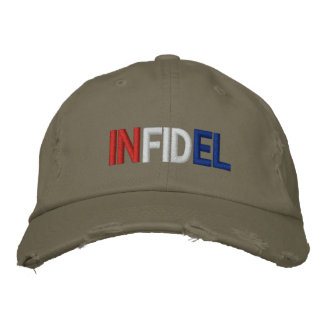 Infidel Embroidered Hat