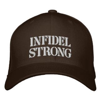 Infidel Plain Hat Embroidered Hats