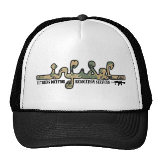 Infidel- Ruthless Dictator Relocation Services Mesh Hats