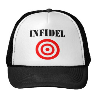 Infidel (with target) hats