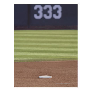 Infield, second base, outfield, and 333 foot postcard