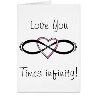 Infinate Love design Card