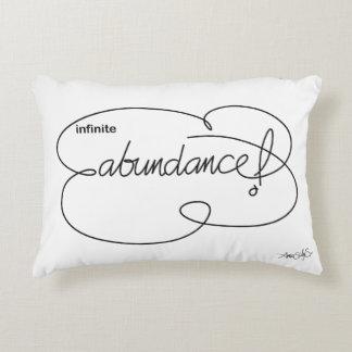 infinite ABUNDANCE - Bold CloudS Decorative Cushion