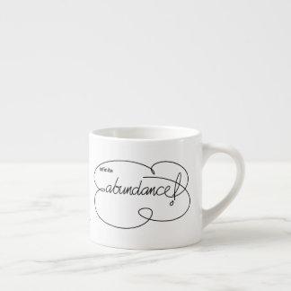 infinite ABUNDANCE - Bold CloudS Espresso Cup