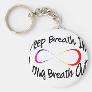 infinite breath key ring
