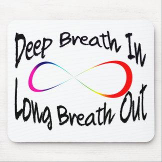 infinite breath mouse pad