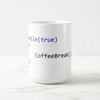 Infinite Coffee Break Loop Coffee Mug