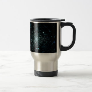 Infinite Galaxies Fractal Travel Mug
