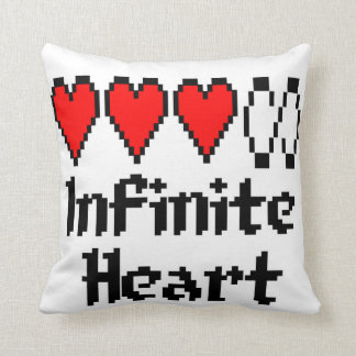 Infinite Heart pillow