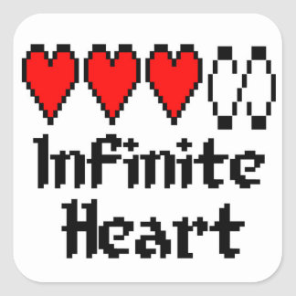 Infinite Heart sticker