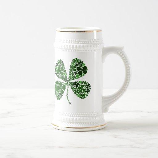 Infinite Luck 4-leaf Clover Coffee Mug
