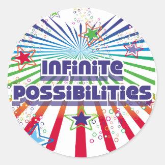 Infinite Possibilities Round Sticker