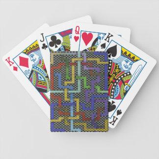 Infinite Puzzle Maze Interconnectable Art Card Deck