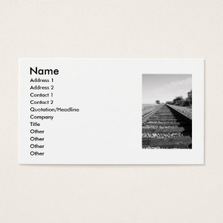 Infinite Railroad Business Card