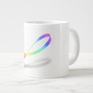 Infinite Rainbow Large Coffee Mug