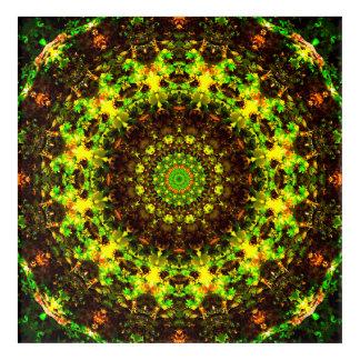 Infinite Shapes Mandala Acrylic Wall Art