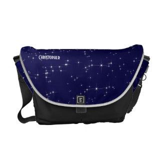 Infinite Universe Custom Bug Messenger Bag