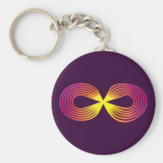 Infinitely indications sign eternity key ring