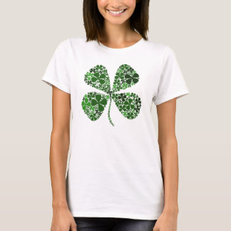 Infinitely Lucky Four Leaf Clover T-Shirt