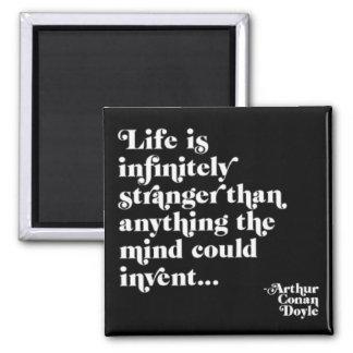 Infinitely Stranger Square Magnet