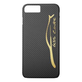 Infiniti G35 Coupe gold silhouette logo iPhone 7 Plus Case