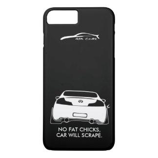 Infiniti G35 Coupe - No fat chicks iPhone 7 Plus Case