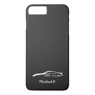 Infiniti G35 Coupe White Silhouette Logo iPhone 7 Plus Case