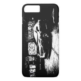 Infiniti G37 Coupe with Graffiti background iPhone 7 Plus Case
