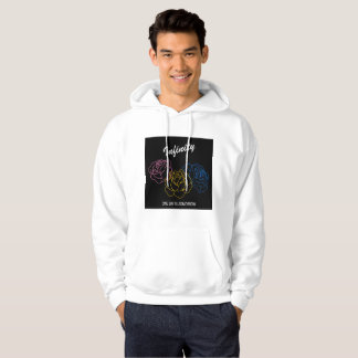 Infinity - Album cover white  Hooded Sweatshirt