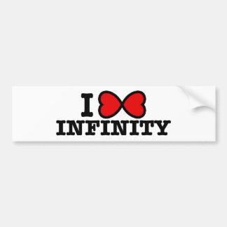 Infinity Bumper Stickers