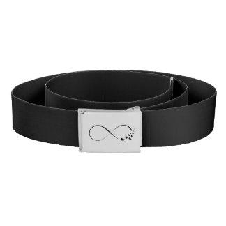 Infinity  butterfly symbol belt