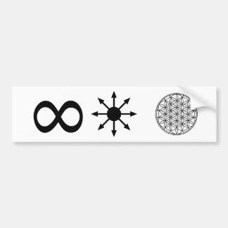 Infinity Chaos Life Bumper Sticker