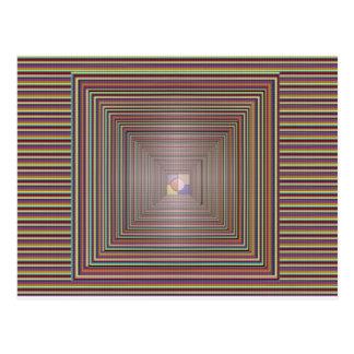 INFINITY Cosmic Healing Energy Tunnel Source Reiki Postcard