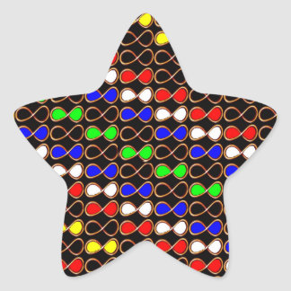 INFINITY  decorative art for all occasion ENJOY IT Star Sticker