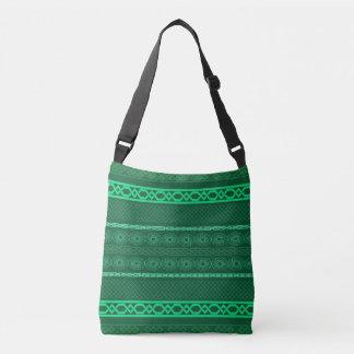 Infinity (green) crossbody bag