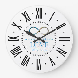 Infinity Love | Forever Gifts Large Clock