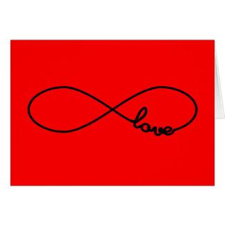 Infinity Love Greeting Card